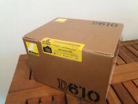 NEW FULL FRAME NIKON D610 FX CAMERA Original Box Sealed