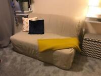 Ikea Lycksele double sofa bed with Håvet mattress