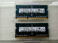 16GB (2 X 8GB) SK hynix DDR3 PC3 PC3L-12800S 1600MHZ SODIMM MEMORY RAM FOR PC LAPTOP or MACBOOK