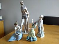 Lladro/Nao ornaments - good condition
