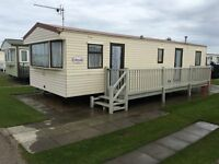 Caravan to rent Ingoldmells/Skegness 3 bedroom 6/8 birth great location very clean & Tidy