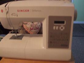 SINGER BRILLIANCE DIGITAL SEWING MACHINE