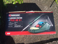 Parkside Soldering Station. (Can see working)