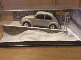 1:43 Volkswagen Beetle - JAMES BOND COLLECTION - On Her Majesty's Secret Service - FABBRI