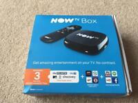 Now tv box