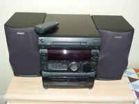 Sony mini system MHC 551