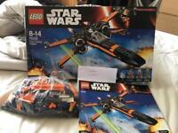 Lego starwars poe's xwing 75102