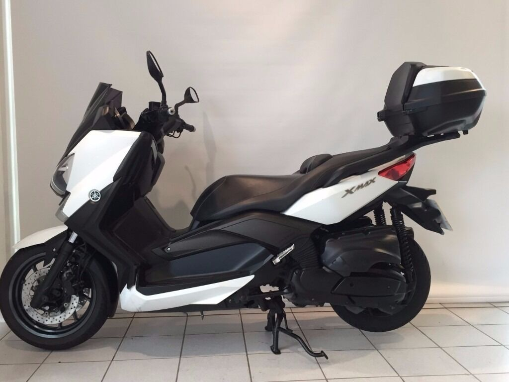 2013 yamaha 400 x max 12832 miles sports exhaust for Yamaha xmax 300