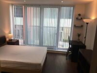 Large Double Rooms In A modern Flat Share, 24 Concierege, 2Mins Walk To DLR Station, E16