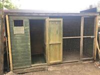 Dog kennel/pen/run / Chicken coop/hutch