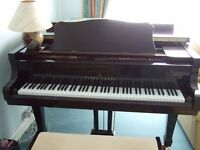 Young Chang Baby Grand Piano & Stool
