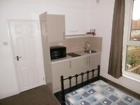 Available Immediately, Furnished studio flat rent includes ALL bills. Comes with parking and garden