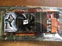 ATI Radeon HD4870 PCI-Express Graphics card.