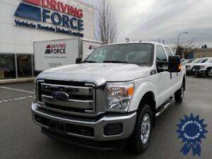 2016 Ford F-350SD XLT Crew Cab 4X4 w/8' Box, Bluetooth, 6.2L Gas
