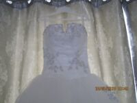 Mori Lee desingner wedding dress excellent condition purchased from Brides of Portswood Soton
