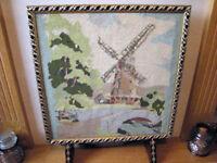 Vintage Tapestry Hearth Screen (Swindon)