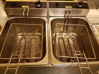 Buffalo Double Fryer