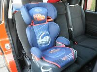 DISNEY PIXAR CARS,GRACO BOOSTER CAR SEAT/CHAIR In very good clean condition, It has a removable/adju
