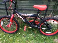 "Boys bike 18"" hardly used. So in great condition"