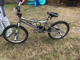 Chrome BMX bike excellent condition