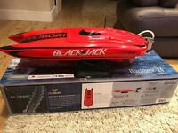"Rc boat proboat blackjack 24"" brushless"