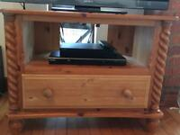 TV cabinet. Pine. Good used condition.