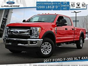 2017 Ford F-350 XLT**DIESEL*4X4*GPS*CAMERA*BLEUTOOTH*A/C**