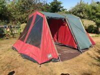 Lichfield Biscay 4 person tent. 4.5m x 3m.