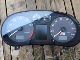 Audi S3 Instrument Cluster Dash Clocks SKC Immo Pin