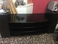 Solid back marble plasma or tv stand