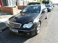 2007 MERC-C220 CDI-AVANTGARDE-AUTO***LONG MOT-IMMACULATE & EXCELLENT DRIVE ONLY £2650