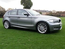 BMW 120 D M SPORT 1 OWNER IN IMMACULATE CONDITION