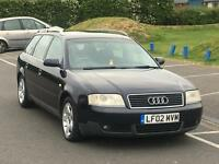 2002 Audi A6 2.5 Avant Se TDI 6 Speed Bose Good Condition Drives Well