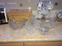 Cut glass bundle
