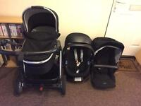 Mamas and papas sola mx2 buggy system
