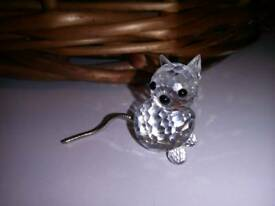 Swarovski cat