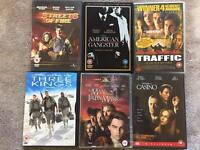 Action/Collectors DVDs - 6 DVDs for a fiver