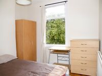 BRIGHT AND QUIET SINGLE ROOM WITH DOUBLE BED TO RENT IN SEVEN SISTERS - VICTORIA LINE - ZONE 3