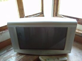 "Sony 24"" widescreen CRT TV"