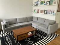 IKEA KARLSTAD large corner sofa (3 + 2) 240 x 280cm