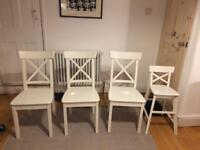 Ikea dining chairs
