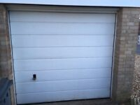 Hormann sectional garage door, excellent condition. Available only for next 10 days