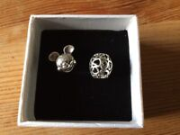 Pandora Charms Mickey Mouse And Heart Design Charm