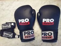 boxing gloves and wrapping