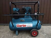 Portable Clarke Air Industrial Compressor - 240v