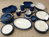 Denny Imperial Blue Crockery pieces