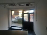 Shop/office to rent on busy main road in Gosport.