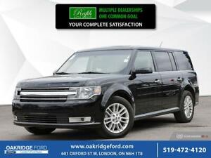 2018 Ford Flex 4DR SUV SEL AWD- NAVIGATION- MOONROOF- LEATHER- B