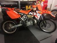 2003 ktm EXC 200 cc outstanding condition for Year