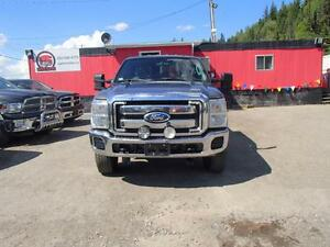 2011 FORD F-350 SD XLT CREW CAB 4WD Prince George British Columbia image 2